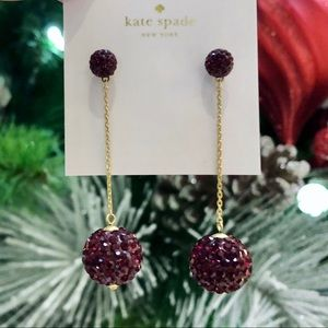 🍒 Kate Spade Razzle Dazzle Earrings